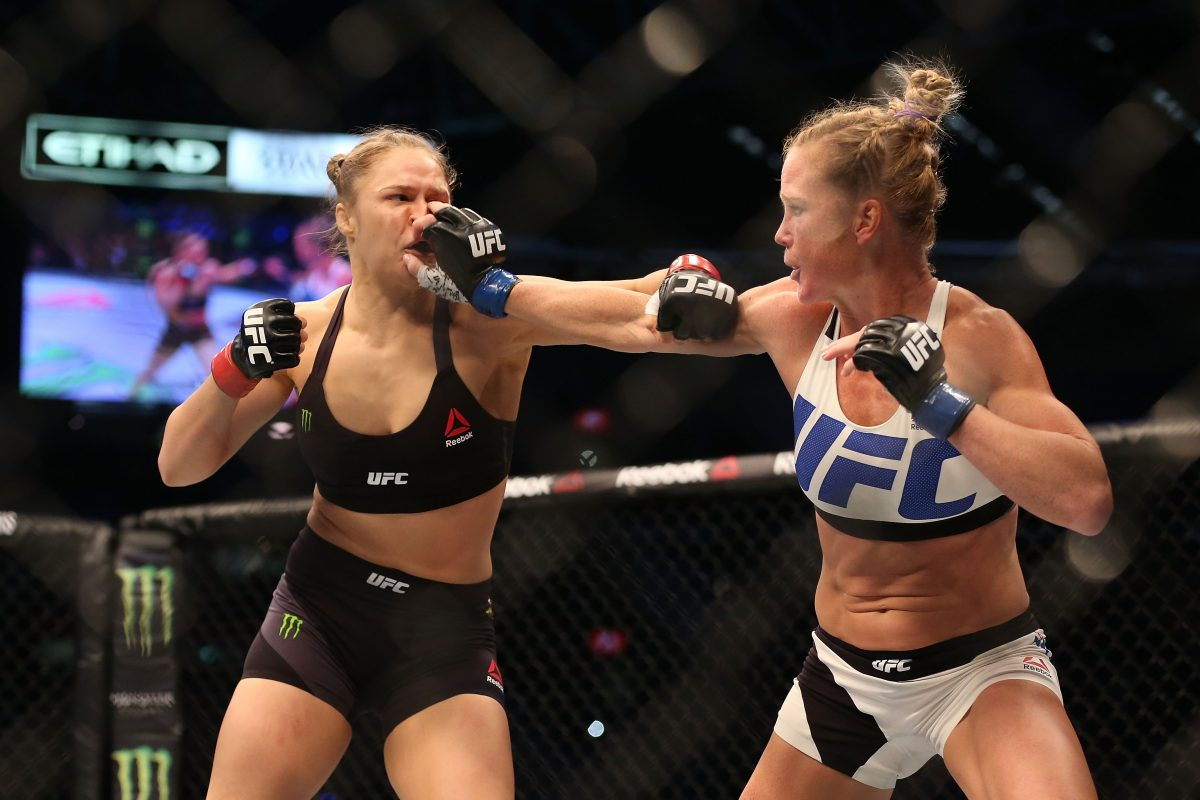 Viral Video: Ronda Rousey Knocked out by Holly Holm