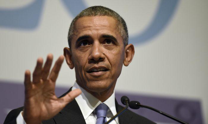 President Barack Obama speaks during a news conference in Antalya, Turkey, Monday, Nov. 16, 2015. (AP Photo/Susan Walsh)