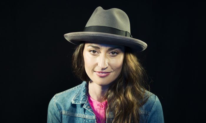 In this Nov. 3, 2015 photo, musician Sara Bareilles poses for a portrait in New York. (Photo by Victoria Will/Invision/AP)