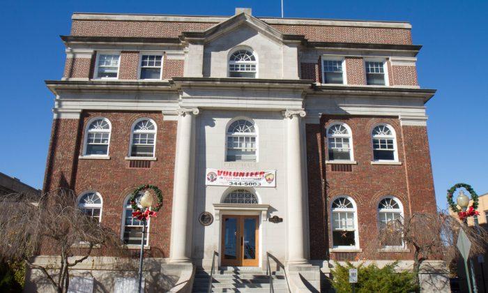 Middletown City Hall on Nov. 20, 2015. (Holly Kellum/Epoch Times)