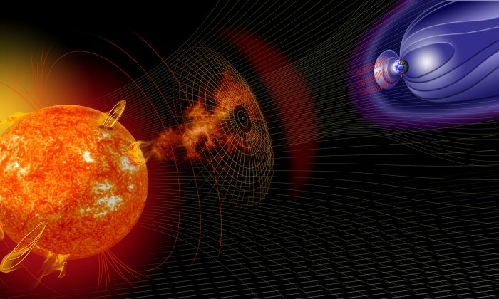 (NASA Goddard Space Weather Center/CC BY 2.0)