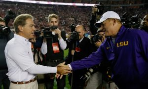 How Nick Saban's Success Is to Blame for Les Miles's Hot Seat