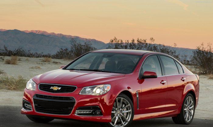 2015 Chevrolet SS. (Courtesy of NetCarShow.com)
