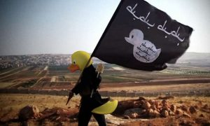 ISIS Mocked Online After Rubber Ducks Photoshopped Onto Terrorists' Heads