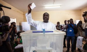 Burkina Faso Holds 1st Vote Since Popular Uprising