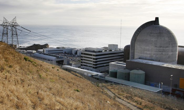 One of Pacific Gas and Electric's Diablo Canyon Power Plant's nuclear reactors in Avila Beach on California's central coast, on Nov. 3, 2008. (AP Photo/Michael A. Mariant)