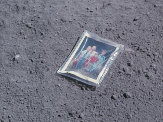 Astronaut Charles Duke's family portrait (NASA.gov)