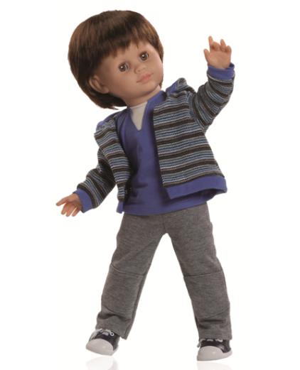 "18"" Boy Doll by Paola Reina"
