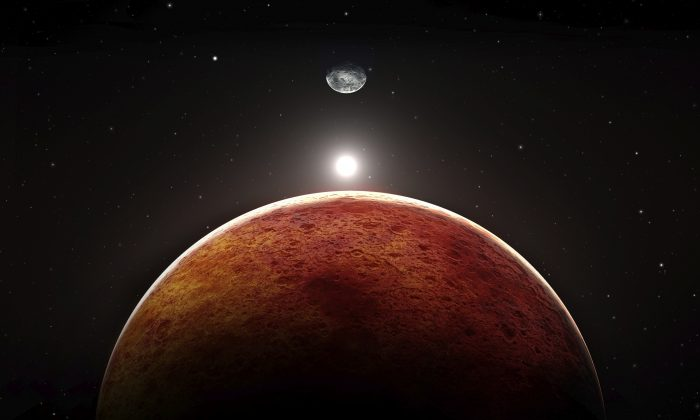 Illustration of Mars (Pitris/iStock)