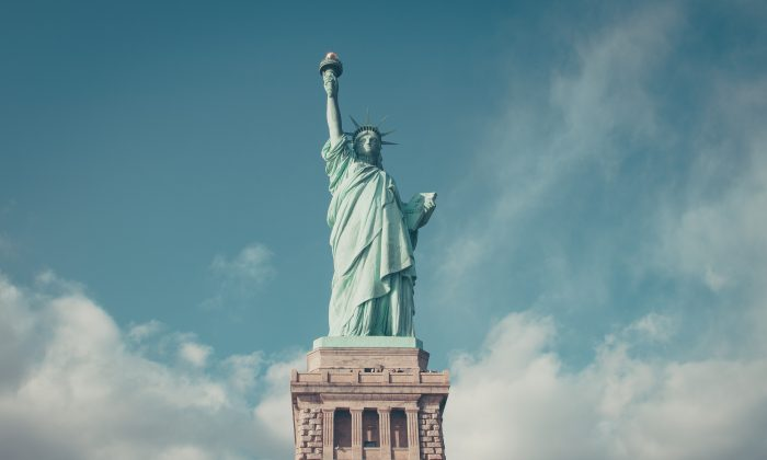 The Statue of Liberty in New York. (Anthony Delanoix/Unsplash.com/Public Domain)