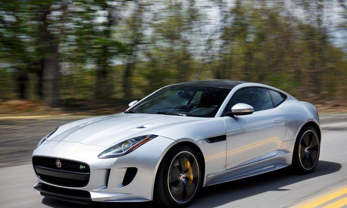 2016 Jaguar F-Type Coupe. (Courtesy of NetCarShow.com)