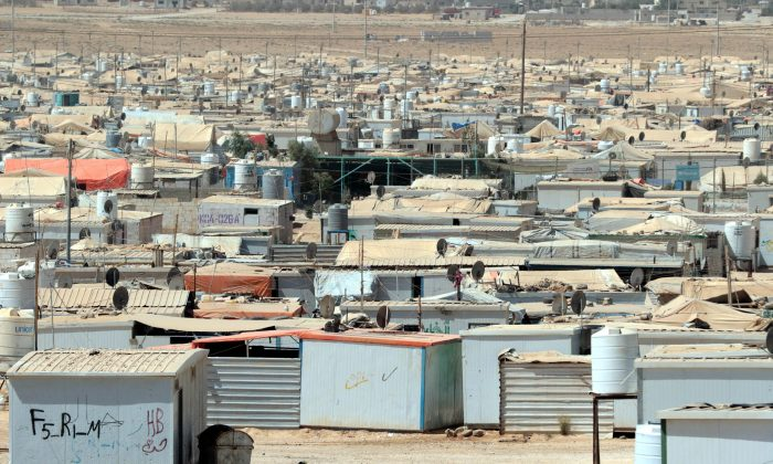 A general view shows the U.N.-run Zaatari camp for Syrian refugees, northeast of the Jordanian capital Amman, on Sept. 19, 2015. (Khalil Mazraawi/AFP/Getty Images)