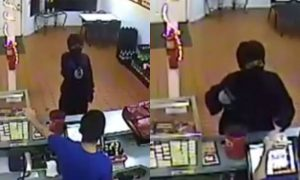 Ohio Police Release Robbery Video Showing Moments Before Employee Shot