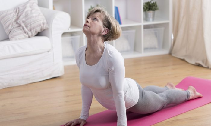 Stretching, yoga, and other forms of exercise can help alleviate pain without the use of drugs. (KatarzynaBialasiewicz/iStock)