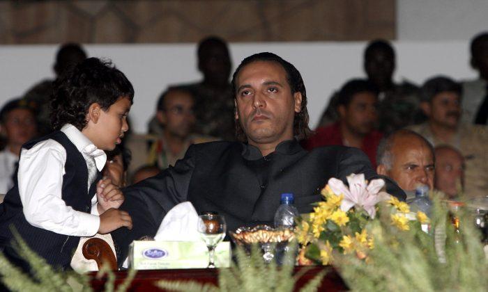 Hannibal Gaddafi in September 2, 2009. (MAHMUD TURKIA/AFP/Getty Images)