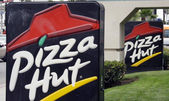 Pizza Hut's logo. (Reed Saxon/AP Photo)