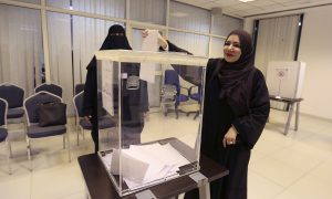Saudi Women Vote for the First Time in Landmark Election