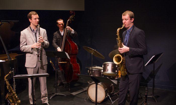 (L–R)  Will Anderson, Clovis Nicolas, and Pete Anderson.