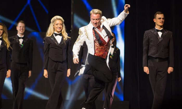 """Michael Flatley in """"Lord of the Dance."""" (Brian Doherty for Rapa Investments)"""