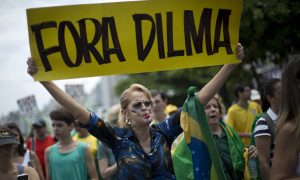 Thousands in Brazil Rally to Demand President's Impeachment