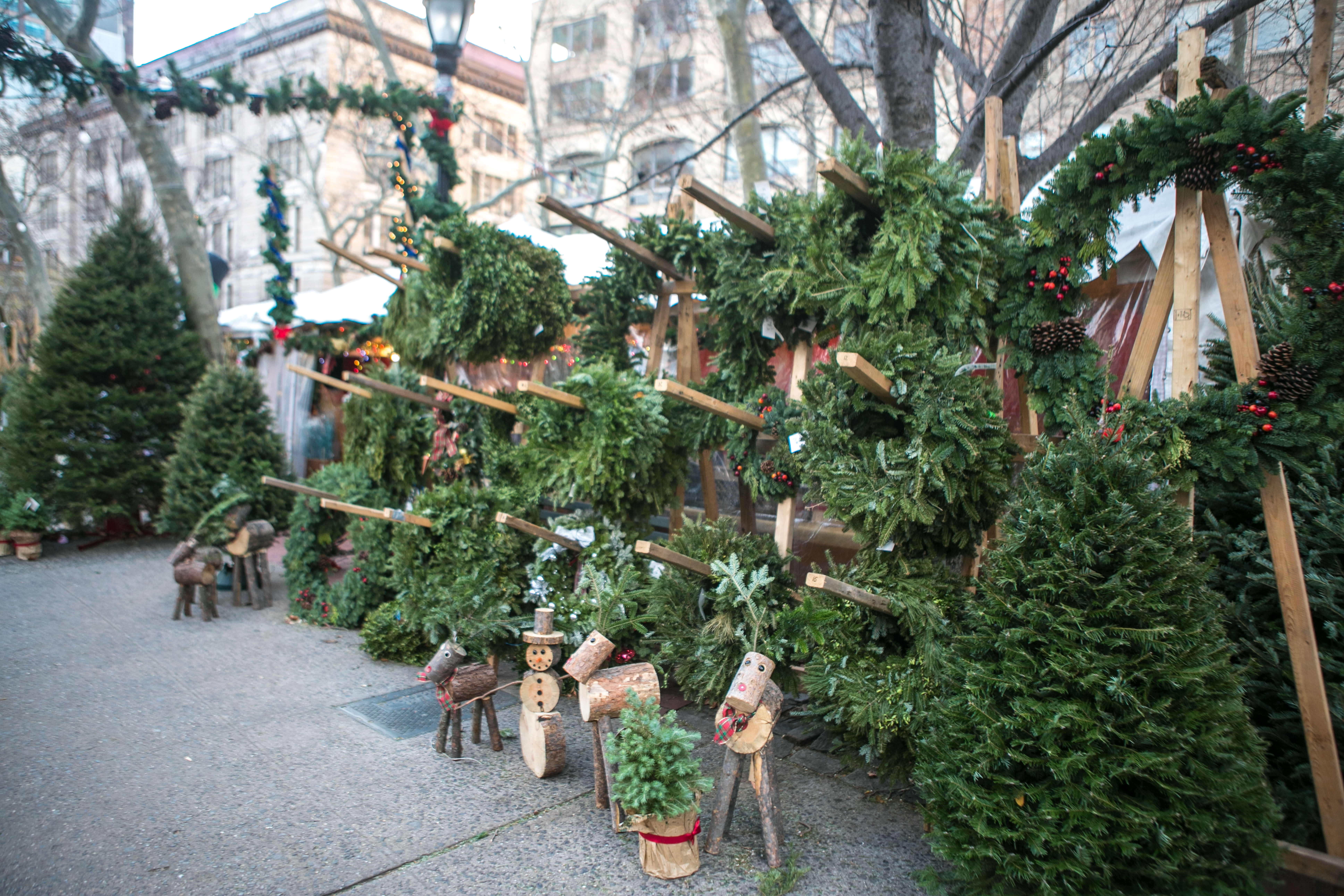 Christmas Trees For Sale.A Peek Behind The Curtain At New York S Christmas Tree Trade