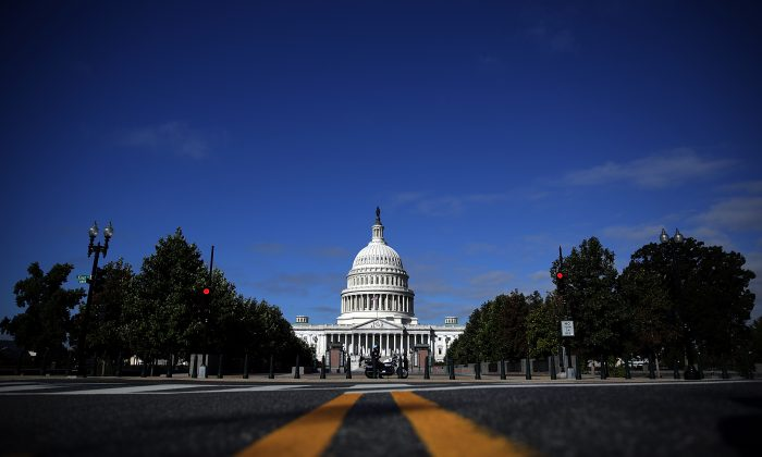 The U.S. Capitol building in Washington, D.C., on Sept. 29, 2013. (Win McNamee/Getty Images)