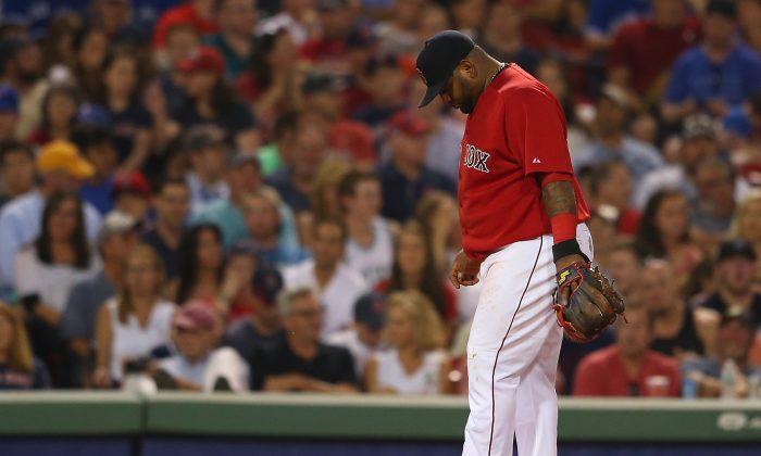Pablo Sandoval had a career-worst season last year in Boston—his first with the Red Sox after signing with them in free agency. (Jim Rogash/Getty Images)