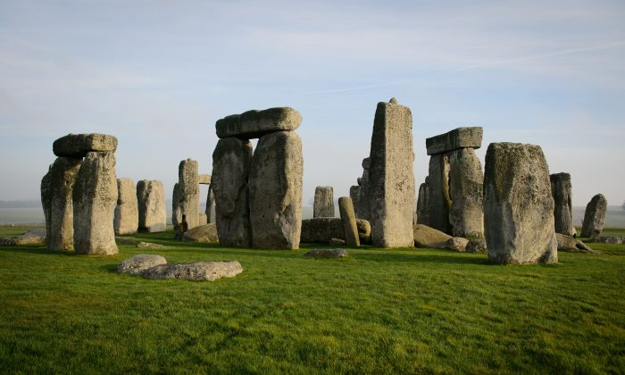 A general view shows the prehistoric monument of Stonehenge, a world heritage site, near Amesbury in south west England on December 11, 2013. (LEON NEAL/AFP/Getty Images)