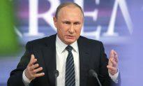 Putin: Russia's Syria Operation Will Continue Until Talks