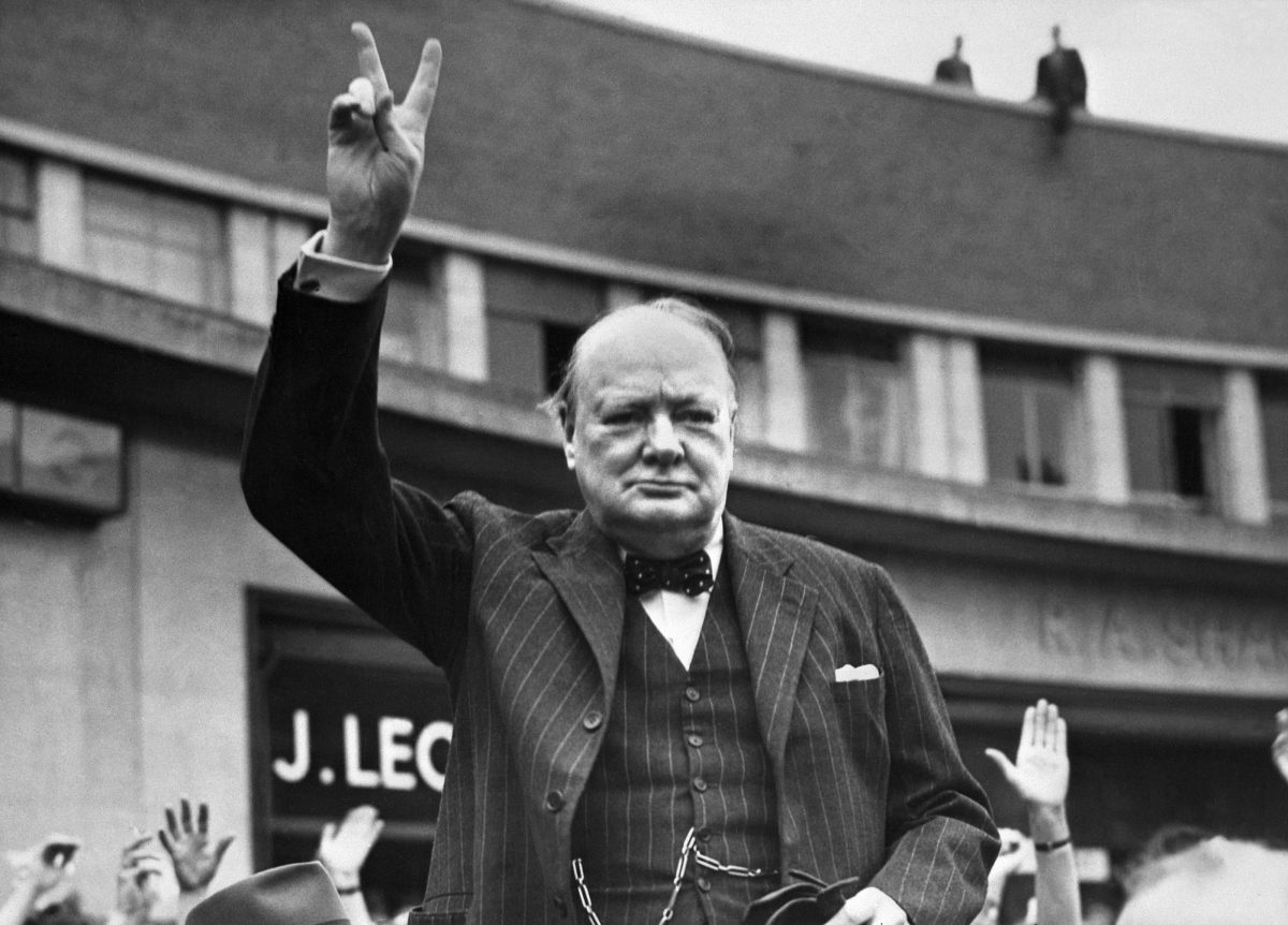 Undated picture of Sir Winston Churchill