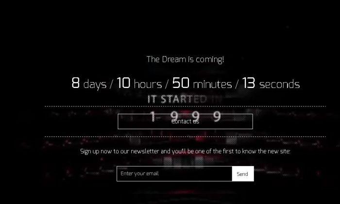 Screenshot/Projectdream.co