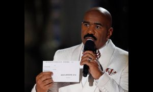 Steve Harvey's Wife Defends Him Over Miss Universe Gaffe as Questions About Teleprompter Arise