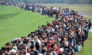Migrant Arrivals Into Europe Top One Million