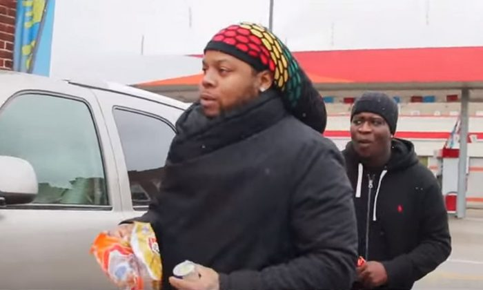 Chicago rapper King Louie was shot in the head, but he survived, according to a Chicago Sun-Times reporter.