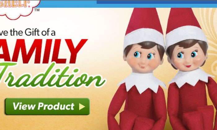 Screenshot from www.elfontheshelf.com