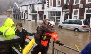 Homes Evacuated, Cars Submerged as Bad Flooding Hits Britain