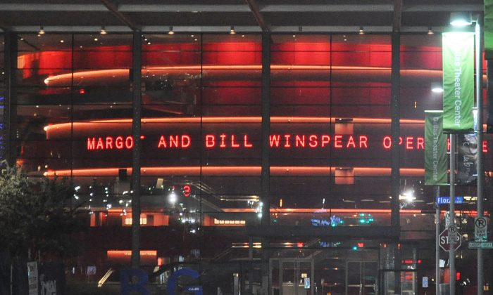 AT&T Performing Arts Center - Winspear Opera House, in Dallas. (Epoch Times)