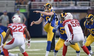 Funny Moment: Rams Punter Johnny Hekker Takes Cheap Shot, Then Runs Away