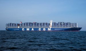 Largest Container Ship to Ever Dock in North America Arrives in Port of Los Angeles