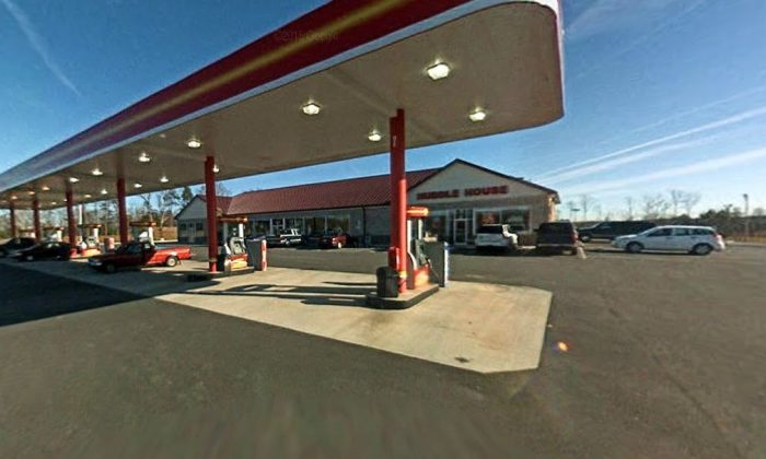 The Eagle Express/Huddle House in Stokesdale, NC (Google Maps)