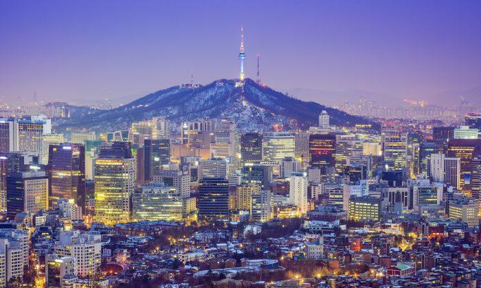 Seoul City skyline at twilight in South Korea. (Sean Pavone/iStock)