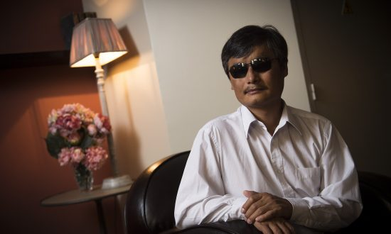 Chen Guangcheng Hopes Bells of New Year Will Ring In a New China