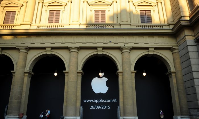 The Apple store on September 11, 2015 in Florence, Italy. (Laura Lezza/Getty Images for Apple)