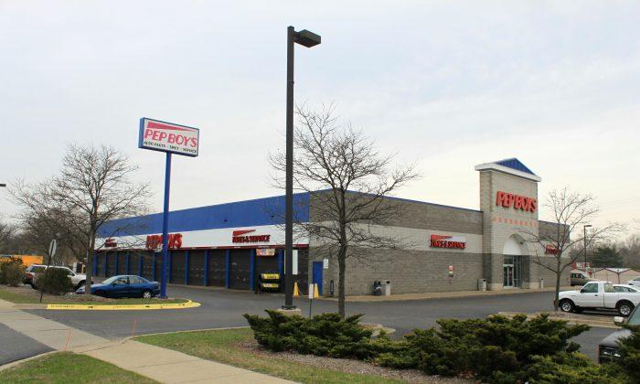A Pep Boys store in Farmington Hills, Mich., on April 25, 2011. (Dwight Burdette/Wikimedia, CC BY 3.0)