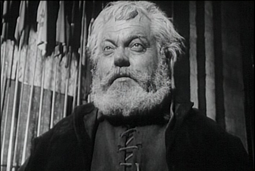 """Orson Welles in his """"Chimes at Midnight."""" (Janus Films)"""
