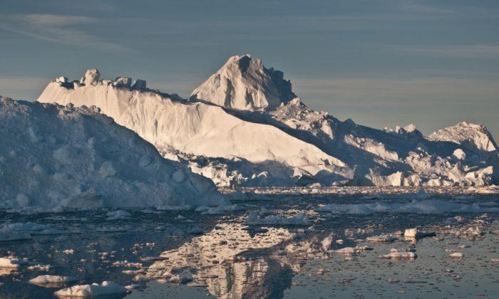 North Pole (Ian Joughin, University of Washington)