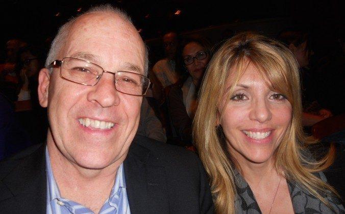 Greg and Anna Steinmetz at Shen Yun in Ft. Lauderdale, on Dec. 27, 2014. (Eddie Bassen/Epoch Times)