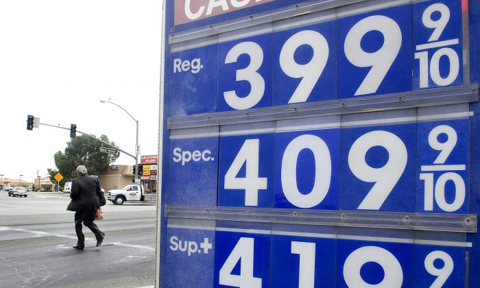 No one paid as much as Californians for gas this year, which is the bad news. The good news is that it's the first time that's ever happened, and also, the average price was $3.16 per gallon, still pretty cheap. (James Quigg/The Victor Valley Daily Press via AP)