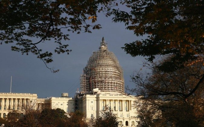 The Capitol dome is seen on Capitol Hill, Washington, D.C., on Nov. 22, 2015. (AP Photo/Alex Brandon)