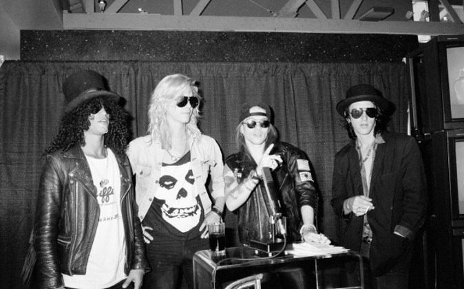 Guns N Roses on July 1, 1988. (The LIFE Picture Collection/Getty Images)